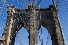 Бруклинский мост, NYC Стоковые Изображения RF