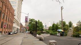 Бруклин, Dumbo, Нью-Йорк стоковые фото