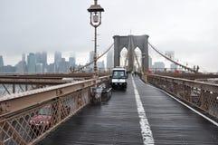 Бруклинский мост Манхаттан, nowy jork Стоковое Изображение RF