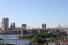 Бруклинский мост - Нью-Йорк Стоковые Фотографии RF