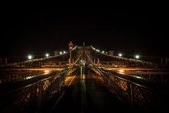 Бруклинский мост Стоковое Изображение