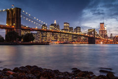 Бруклинский мост Стоковое фото RF