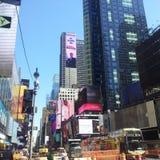Бруклин смотря на Манхэттен Стоковые Фото