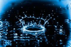 Брызгает воды Стоковые Изображения RF