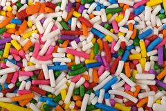 брызгает сахар Стоковое Изображение RF