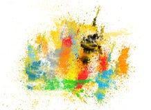 брызгает Стоковая Фотография RF