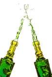 Брызгать бутылки Стоковое Фото