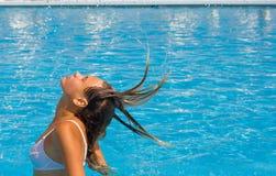брызгать девушки Стоковое Изображение RF