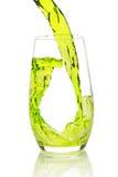 брызгать зеленого цвета коктеила Стоковое Изображение RF