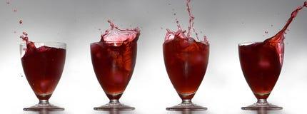 брызгать напитков Стоковые Изображения