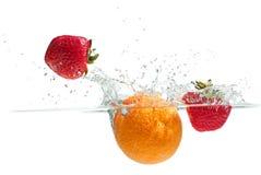 Брызгать плодоовощи Стоковое Фото