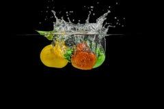 Брызгать плодоовощи Стоковая Фотография RF