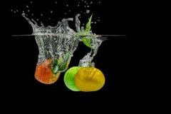 Брызгать плодоовощи Стоковые Изображения RF