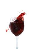 брызгать сока вишни Стоковая Фотография