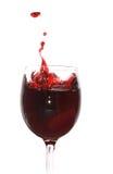 брызгать сока вишни Стоковое Изображение RF