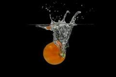 Брызгать томат Стоковое Фото