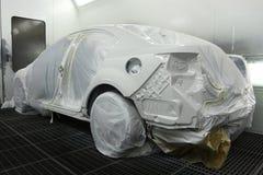 брызг автомобиля будочки Стоковое Фото