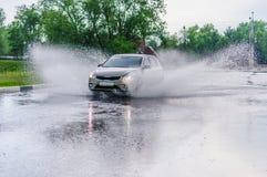 брызг автомобиля Стоковая Фотография RF