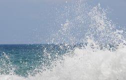 Брызг моря близко Стоковая Фотография