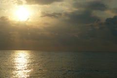 Брызг моря воды Стоковая Фотография