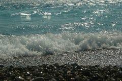 Брызг моря воды Стоковые Фотографии RF