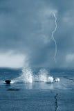 брызг моря мягкий Стоковое Изображение RF
