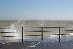 Брызг моря Стоковые Изображения