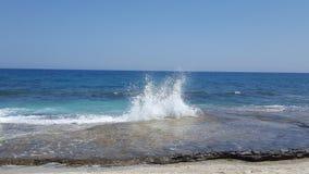 Брызг океана Стоковое Изображение RF