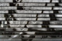 Брызг-покрашенная дверь крена-вверх металла стоковые фото