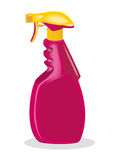 брызг уборщика бутылки Стоковая Фотография
