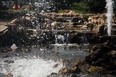 Брызг фонтана Стоковые Изображения RF