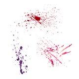 Брызг splatter вектора акварели Стоковая Фотография
