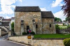 Брэдфорд на церков St Laurence Эвон Уилтшира 21-ое мая 2019 исторической Saxon стоковое фото rf