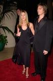 Брэд Питт, Дженнифер Aniston стоковые изображения