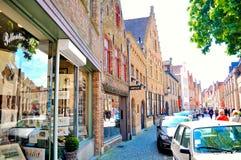 Брюгге Бельгия Стоковая Фотография