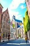 Брюгге Бельгия Стоковое Изображение