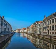 Брюгге (Brugge), Бельгия Стоковые Изображения