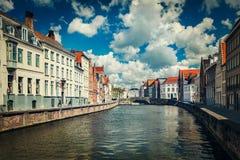Брюгге (Brugge), Бельгия Стоковая Фотография