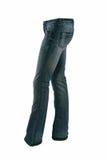 брюки голубых джинсов стоковые фото