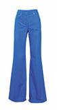 брюки голубых джинсов Стоковое Фото