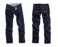 Брюки голубых джинсов стоковые фотографии rf