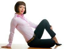 брюки девушки сексуальные стоковое изображение rf