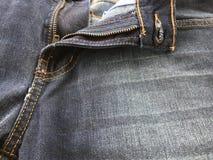 Брюки джинсов Стоковые Фото