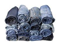 брюки джинсыов стоковое фото rf