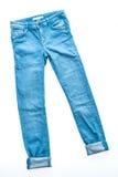 Брюки джинсов стоковое изображение rf