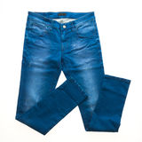 Брюки джинсов стоковые изображения