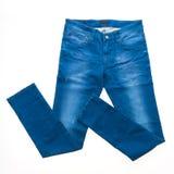 Брюки джинсов стоковая фотография