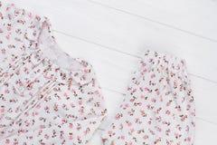 Брюки и куртка пижамы стоковые изображения