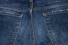 Брюки и текстура голубых джинсов стоковая фотография rf
