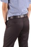 брюки человека стоковое фото rf